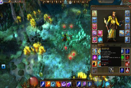 Gameplay im Browsergame Drakensang Online