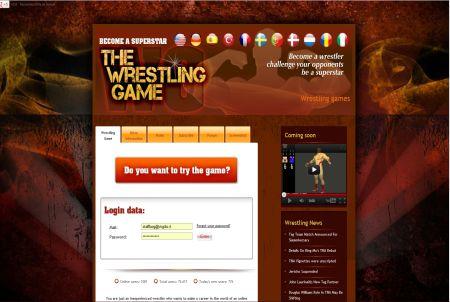 The Wrestling Game Login