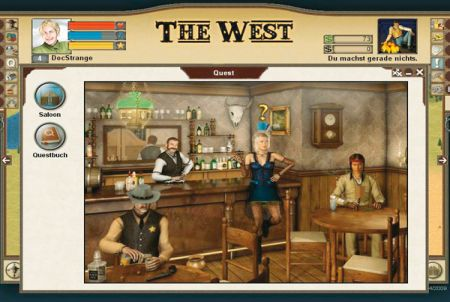 Saloon bei The West