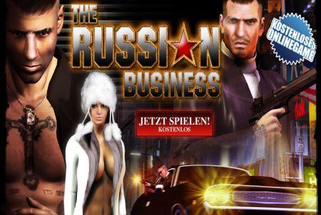 Die Anmeldung bei The Russian Business