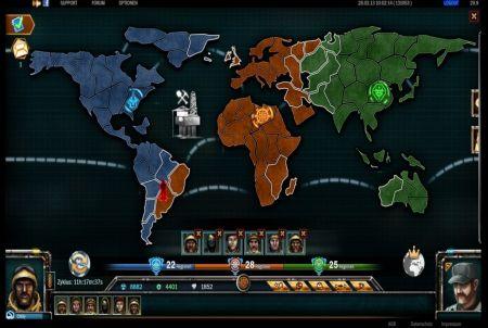 UFO Online Weltkarte