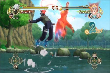 Duell aus dem Browsergame Ultimate Naruto
