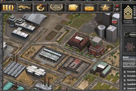 Stadt aus dem Browsergame Wargame 1942