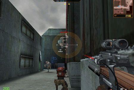 Kampfszene aus dem Browsergame WolfTeam