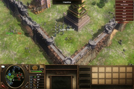 Festung aus dem Browsergame 9 Empires