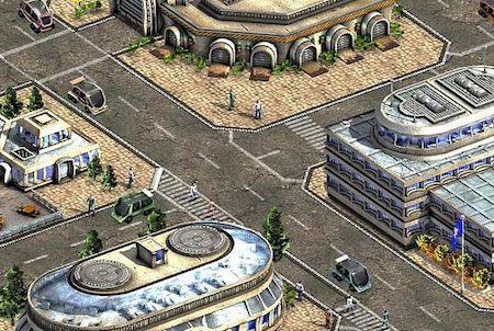 Stadt aus 22 Moon at War