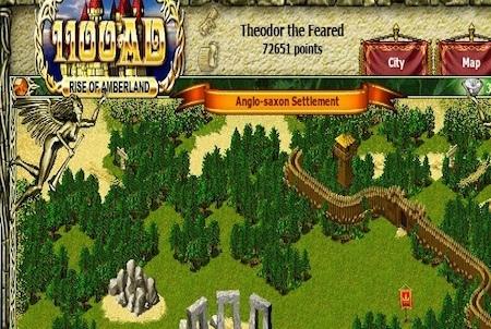 Mauer zum Schutz bei 1100AD