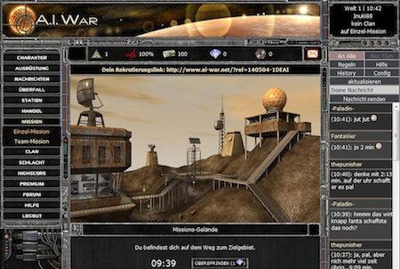 Rekrutierung bei A.I. War