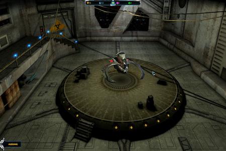 Hangar bei Andromeda 5