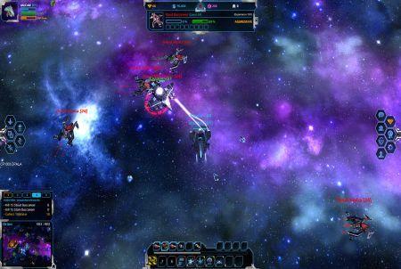Andromeda 5 Kampfszene