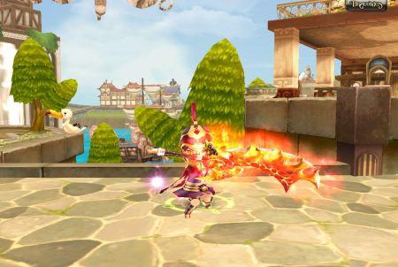 Dragonica Feuerangriff