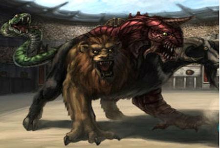 Ungeheuer aus dem Browsergame Dawn of the Dragons