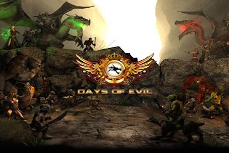 Days of Evil Werbebild