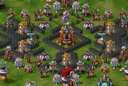 Siedlung aus dem Browsergame Edgeworld