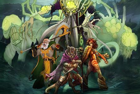 Wallpaper aus dem Browsergame Fantasy Rivals