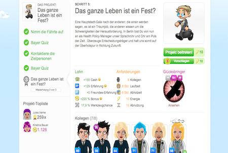Projekt aus dem Browsergame Fliplife