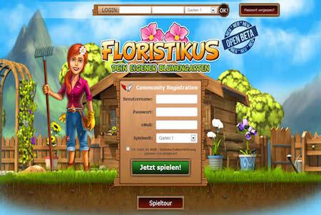 Anmeldung bei Floristikus