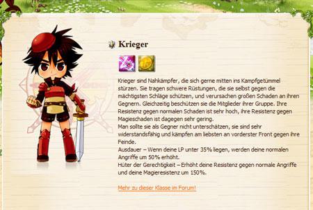 Krieger aus dem Browsergame Canaan