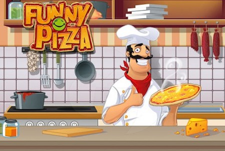 Funny Pizza Wallpaper