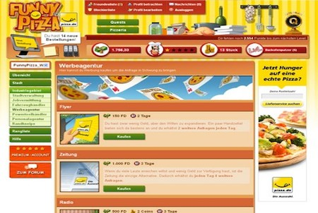 Funny Pizza Werbeagentur