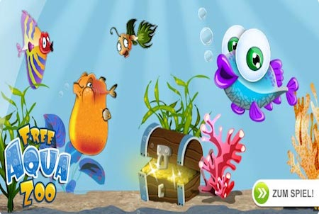 Free Aqua Zoo Wallpaper