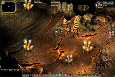 Dungeon aus dem Browsergame Fragoria