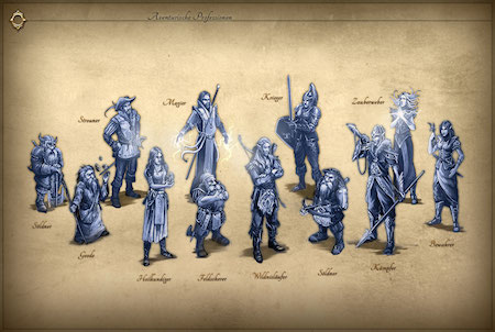 Herokon Online Charaktere