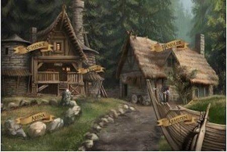 Gronenland Dorf