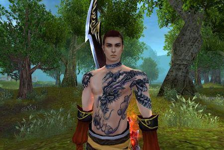 Jade Dynasty Charakter