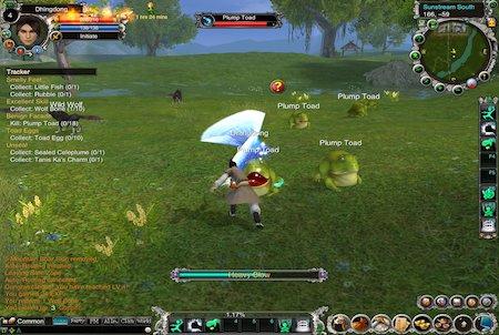 Jade Dynasty Player versus Enviroment