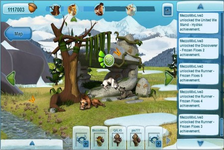 Ice Age Online Gameplay