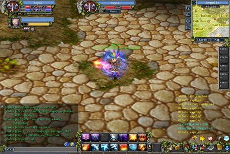 Gameplay bei Godswar Online