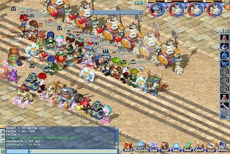 viele Spieler bei Mixmaster