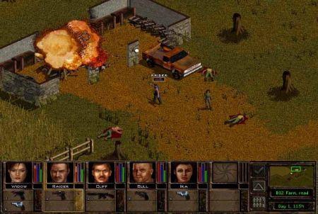 Jagged Alliance Explosion