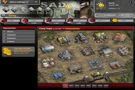 SAD OPS Camp