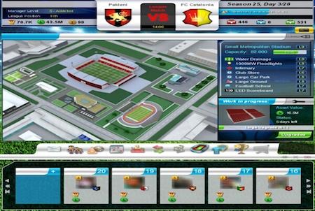 Top Eleven Stadionumfeld