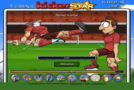 Kickerstar Trainingsoption