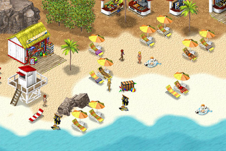 Browsergame Wewaii Strand