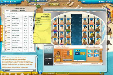 Browsergame Wewaii Urlauber