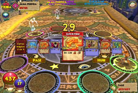 Wizard101 Spielkarte