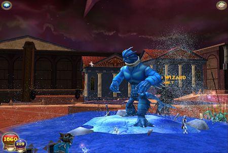 Wizard101 Wasserungeheuer