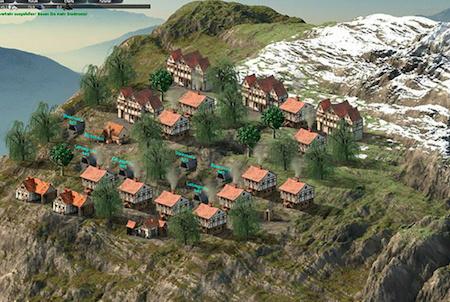 Hill Empire Bergsiedlung
