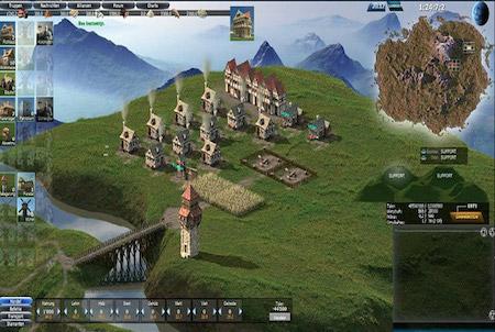 Hill Empire Siedlung