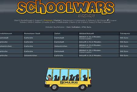 Schulbus bei Schoolwars