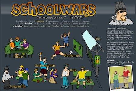Schoolwars Schulhof
