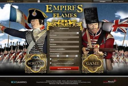 Empires in Flames Login