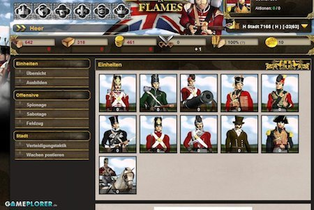 Empires in Flames Soldaten