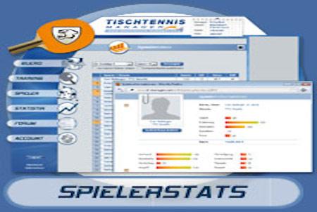 Tischtennis-Manager Spielerstatistik