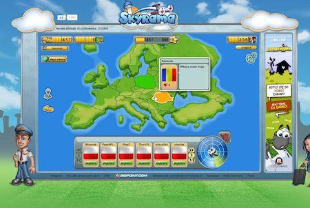 Skyrama Landkarte