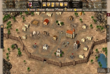 Castle Fight Holzmauern